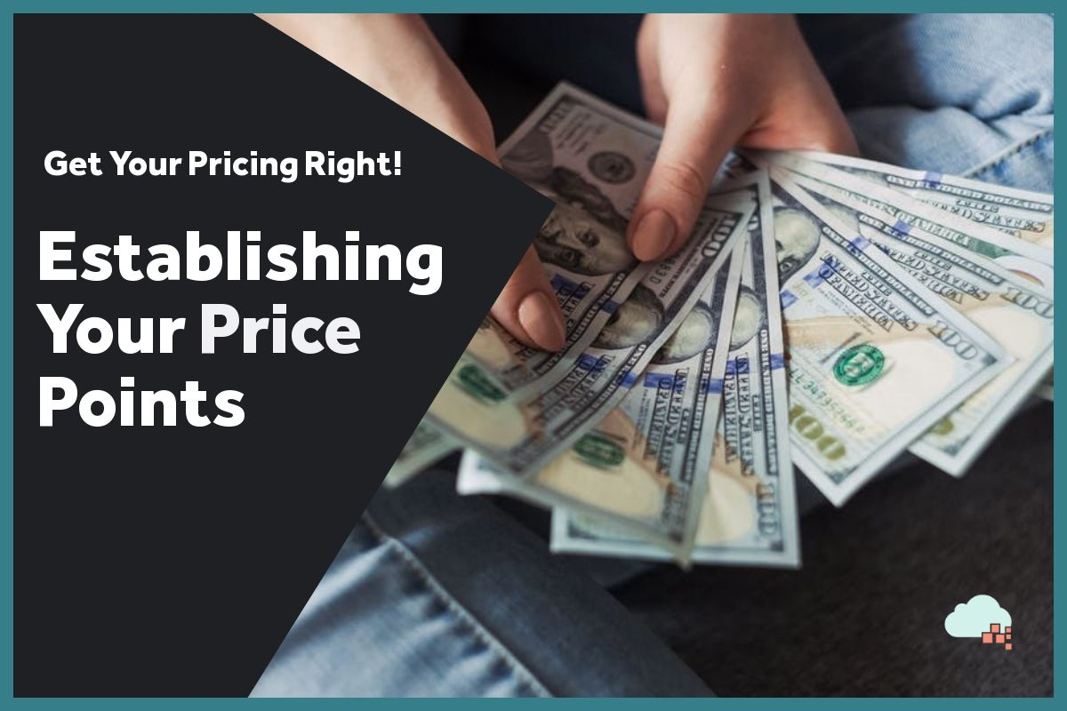 Module 3: Establish Your Price-Points or Pricing levels
