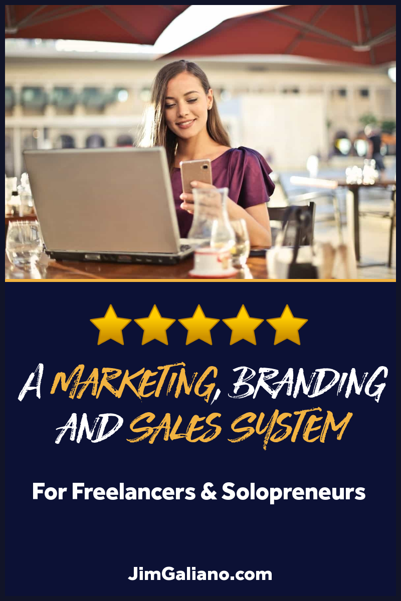 Personal Marketing, Branding & Sales System