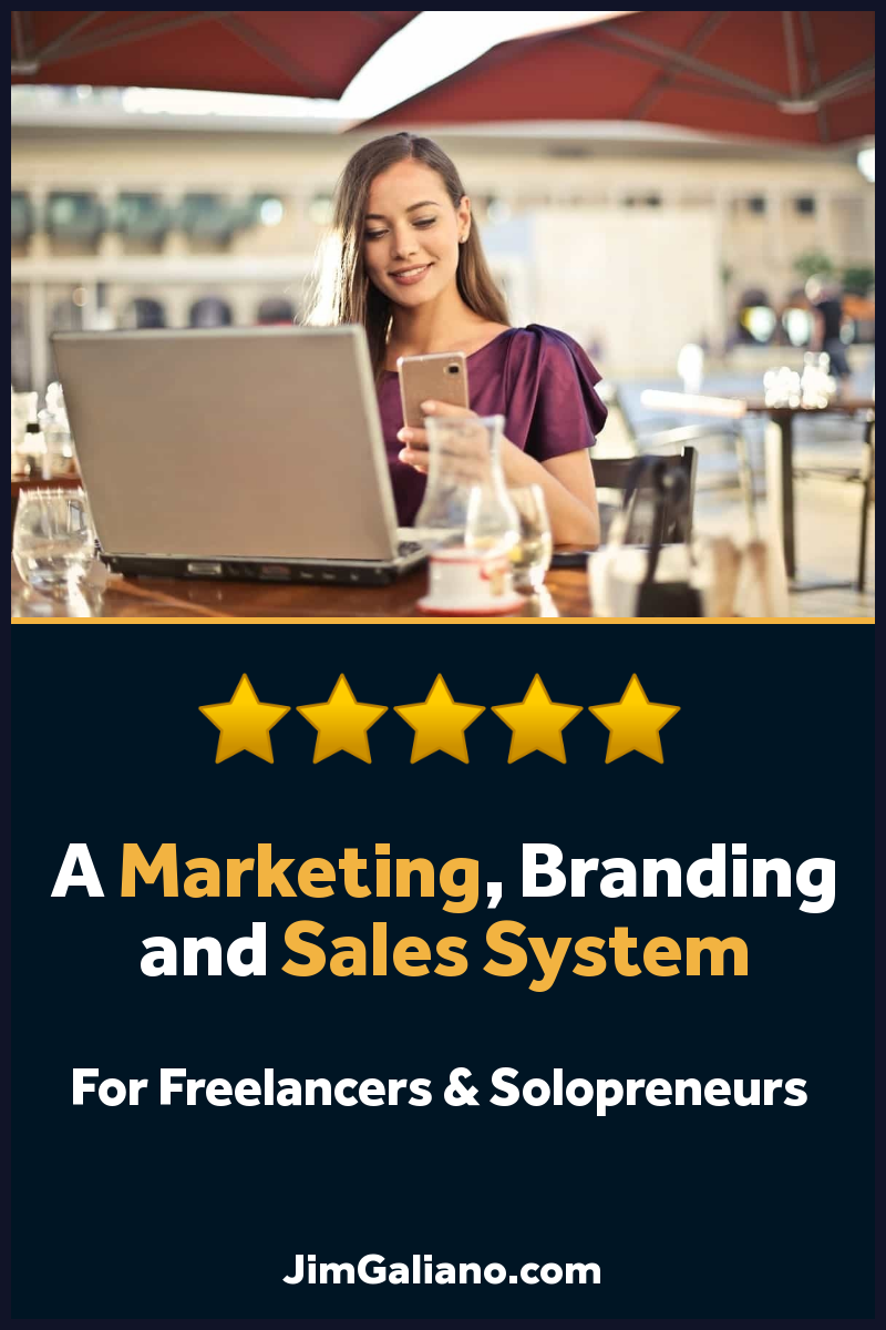 Personal Marketing, Branding & Sales System + Mentor Program